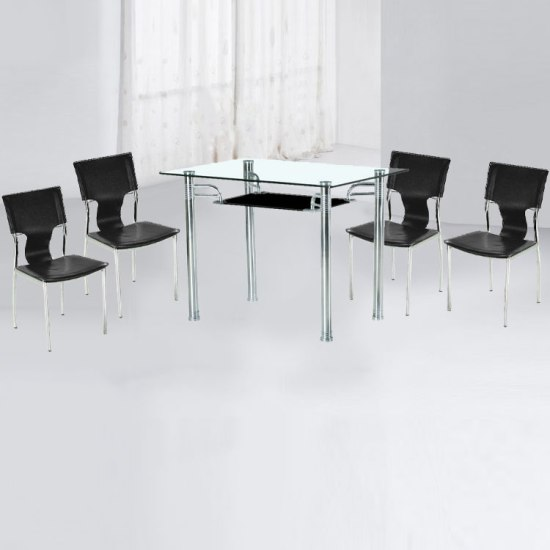 4 seater dining set 8875001 - Dining Tables For Small Spaces, Classy and Stylish Furniture