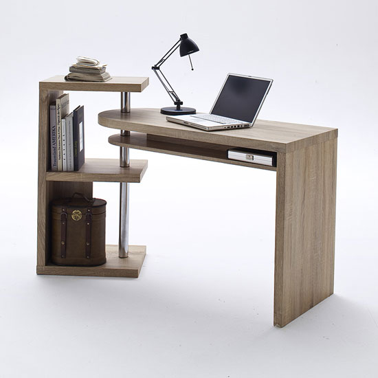 Sydney Rotating Office Desk In Oak 21514 Furniture In