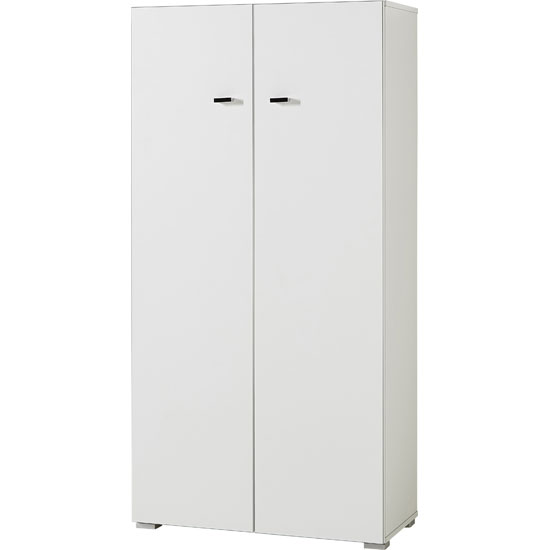 Montreal Home Office Cabinet Small In White With 2 Doors