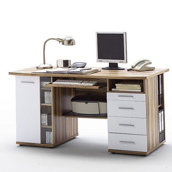 42001TW6 - 8 Simple Ideas On Organising A Computer Desk For Bay Window