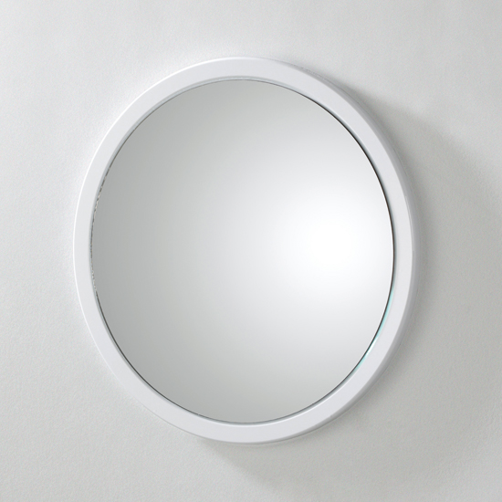 Tom Hi Gloss White Mirror