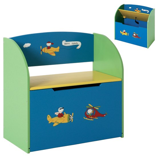 Read more about Bambino childrens bench with storage