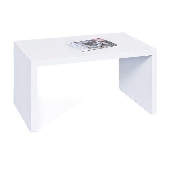 Amulet Coffee Table Rectangular In White High Gloss_2