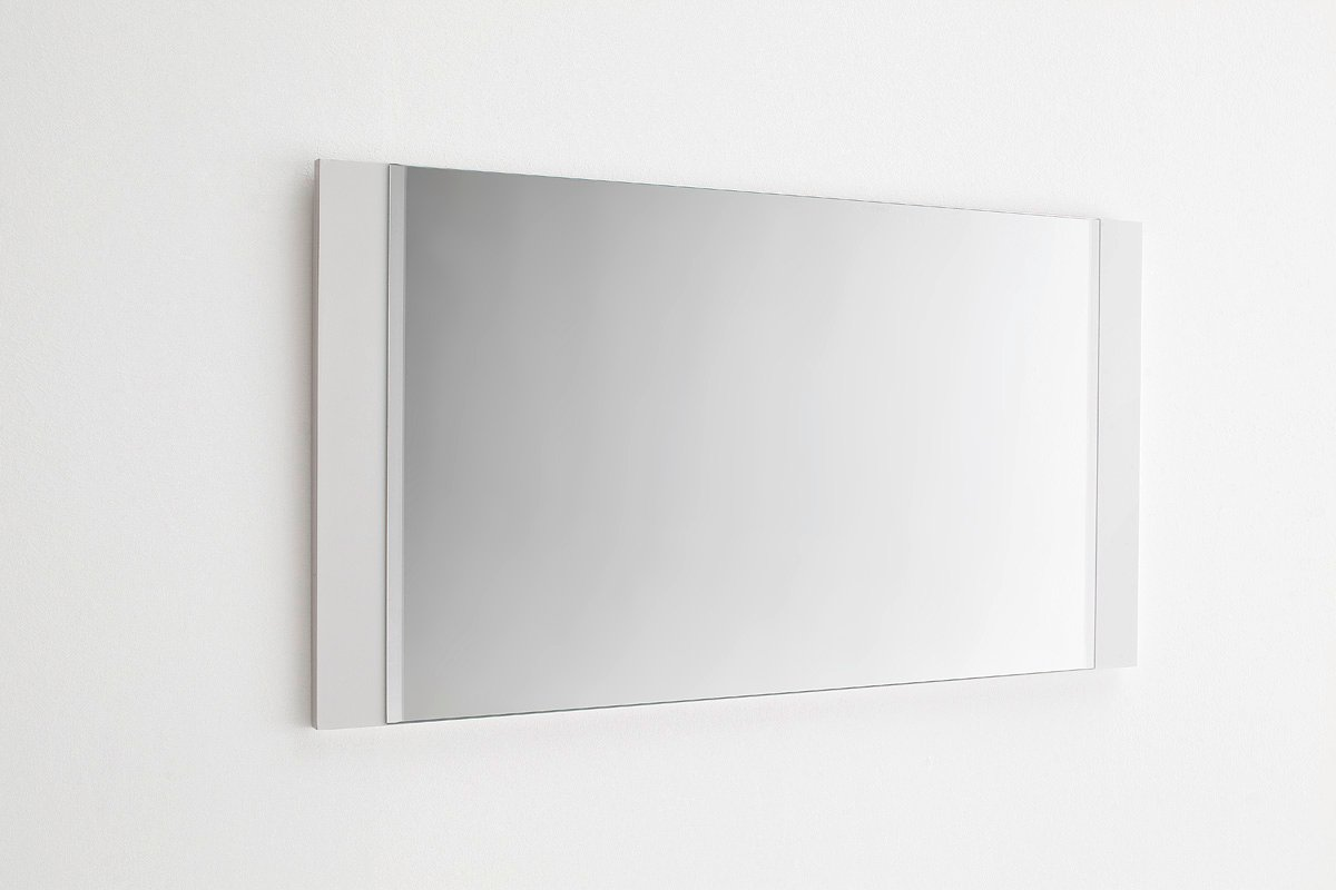 Odessa Hallway White Gloss Wall Mirror 20229 Furniture In