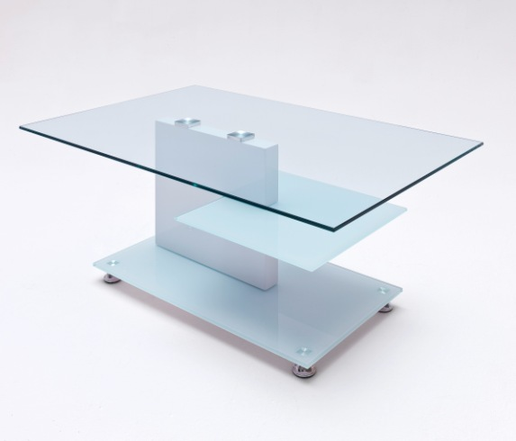 Buy Cheap Frosted Glass Coffee Table Compare Tables Prices For Best Uk Deals
