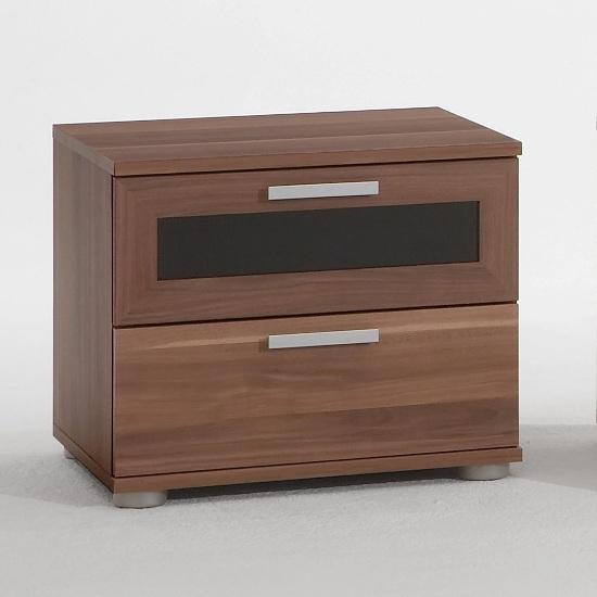 Jonny Bedside Cabinet Mocca - Bedside Cabinets, Bedroom Furniture