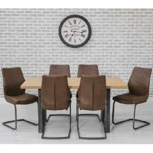 wooden dining table and 6 chairs sets UK