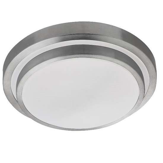 Round Shape White LED Flush Light With Aluminium Trim