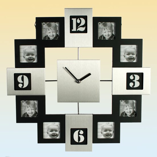 details about photo frame wall clock 79 3122