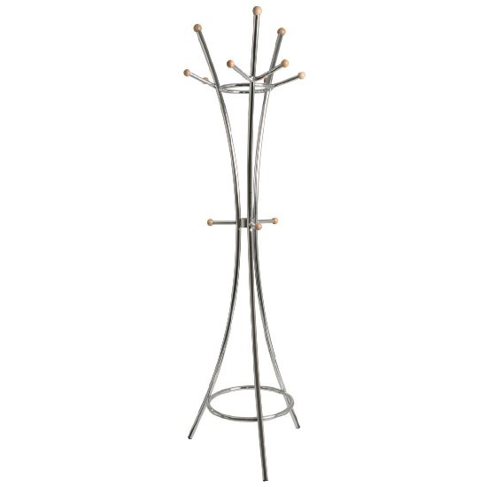 Kairo Coat Hat Stand In Chrome