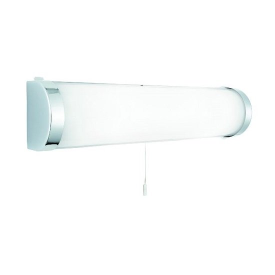 Poplar Bathroom Chrome Wall Lamp In Glass Tube Shape