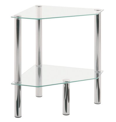 2 tier corner occasional table 90245