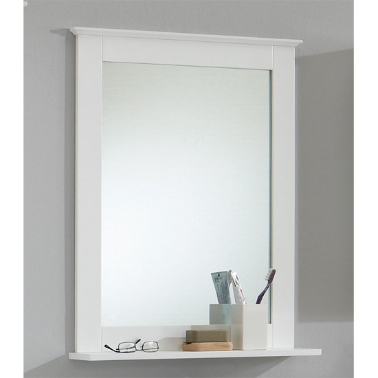 Beautiful Bathroommirrorwithshelf5 Bathroom Mirror With Shelf
