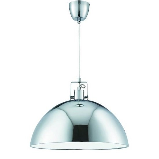Domas Chrome Pendant Lamp With Adjustable Suspension