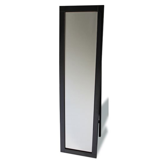 Cheval Contemporary Black Frame Freestanding Mirror