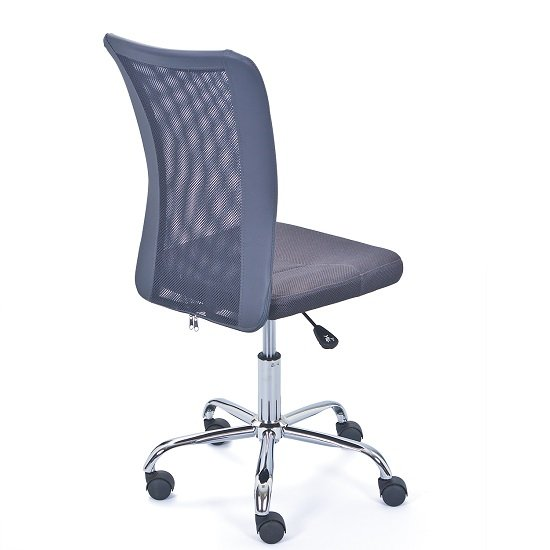 Bonnie Children Office Chair In Grey PU With Mesh Back_3