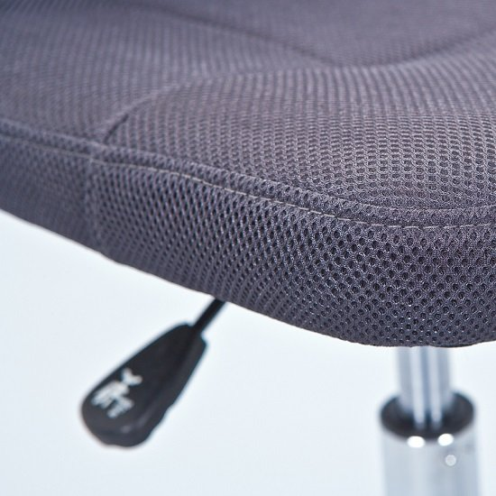 Bonnie Children Office Chair In Grey PU With Mesh Back_7