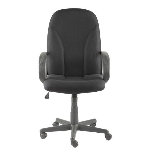 Bombax Home And Office Chair In Black Finish