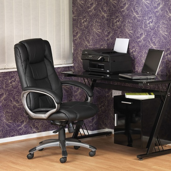 Nobbler Home And Office Executive Chair In Black_5