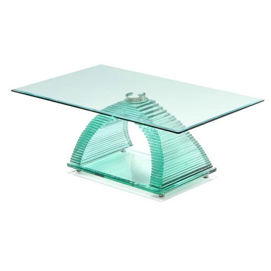 Armenia Rectangular Glass Coffee Table