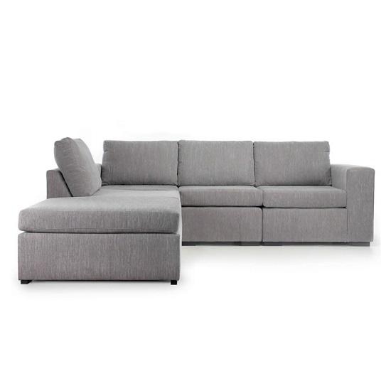 Abbie Modular Corner Sofa lightgrey INSTORE - 10 Fabric Sofas For The Perfect Living Room