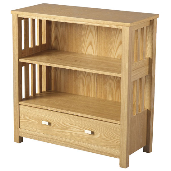 ashmore small bookcase with 1 drawer and 2 shelf furniture. Black Bedroom Furniture Sets. Home Design Ideas