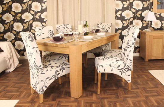 Aston Large Dining Table In Oak