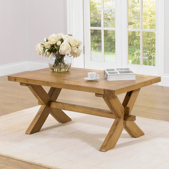 Carlotta Coffee Table in Solid Oak
