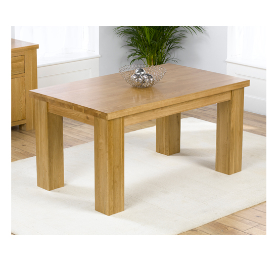 Daniela 150cm Dining Table In Solid Oak
