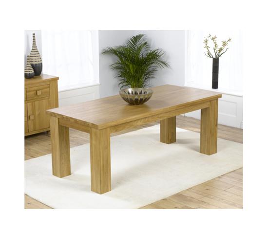 Daniela Chair: Daniela Solid Oak Dining Table 13209 Furniture In Fashion