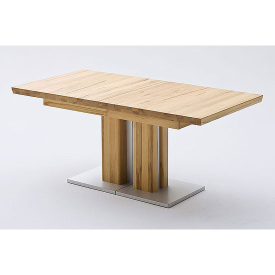 Bari Extending Solid Oak Dining Table