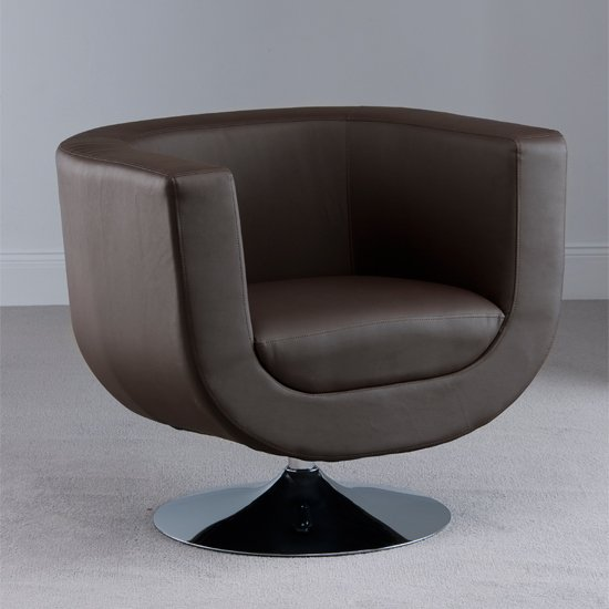 Brown Leather Tub Chair Shop For Cheap Furniture And