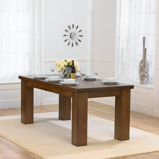 Daniela Chair: Daniela 180cm Dark Oak Dining Table Only 13456 Furniture In
