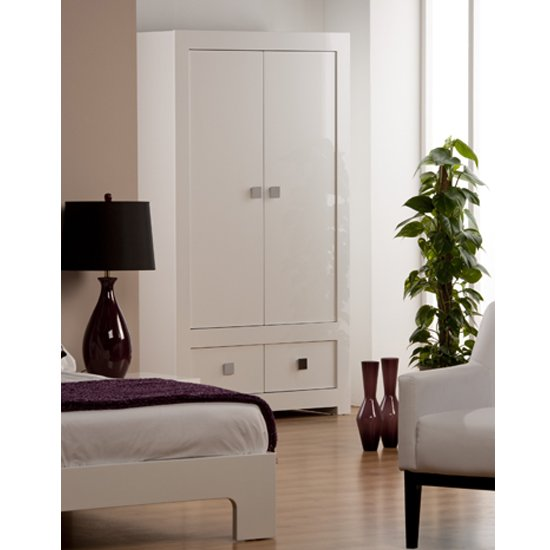 Bari 2 Door Wardrobe BAR01 - Top Tips for Buying Luxury Furniture