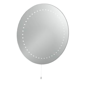 Bathroom Round Wall Mirror With LED lights