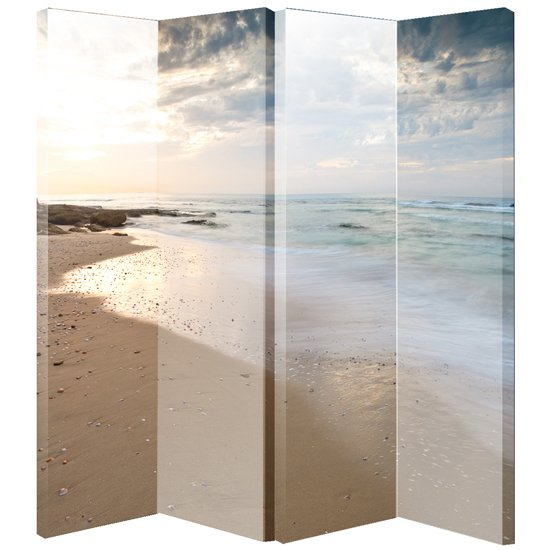 White And Black Rose Room Canvas Room Divider Screen Buy
