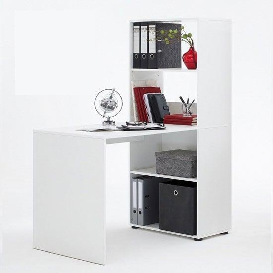 Bente White Com desk1