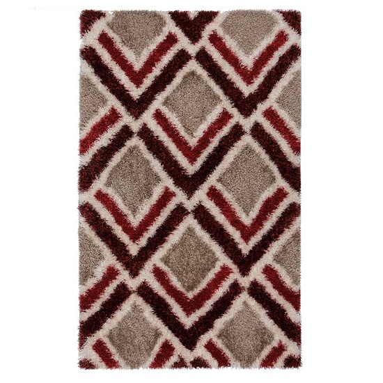 Velvet Bijoux Red And Brown Rug_2