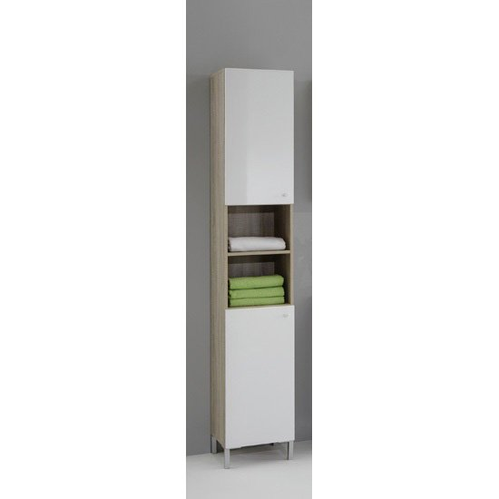 Bilbao3 Freestanding Tall Bathroom Cupboard 14751 Furniture