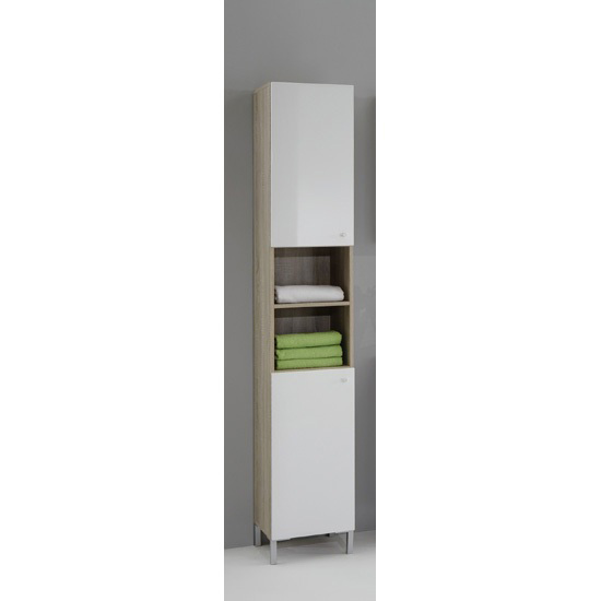 Bilbao3 Freestanding Tall Bathroom Cupboard