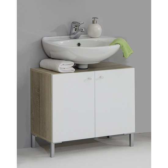 Read more about Bilbao7 modern bathroom vanity without wash basin