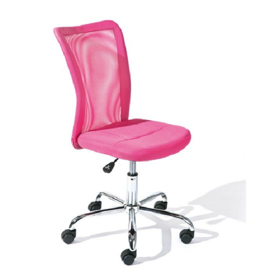 buy cheap office chair pink compare chairs prices for best uk deals. Black Bedroom Furniture Sets. Home Design Ideas