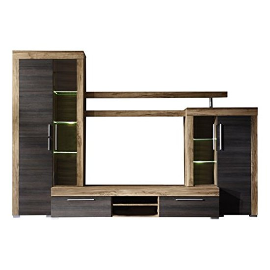 Boom Living Room Furniture Set In Walnut And Dark Brown_3