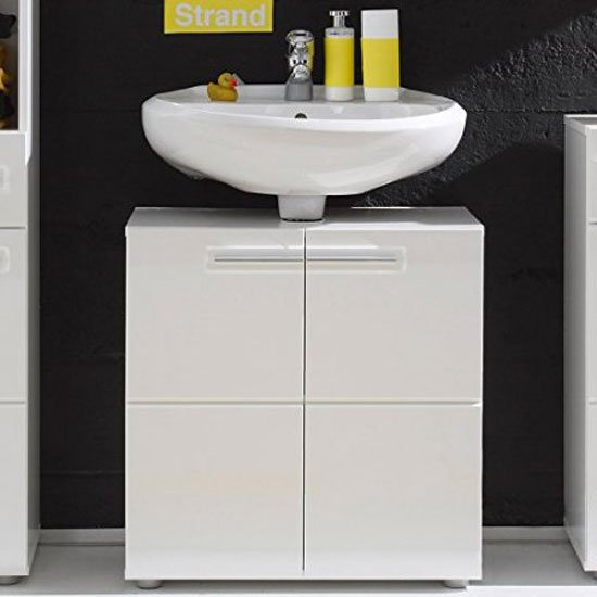 bathroom vanities bora vanity cabinet in white with high gloss fronts