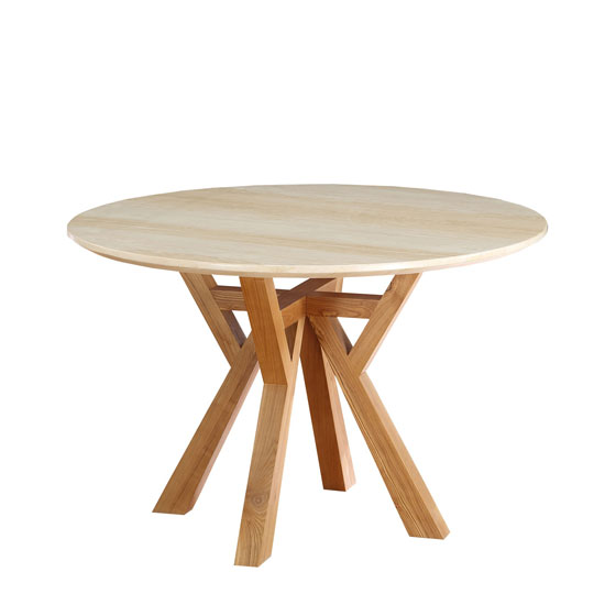 Bruni Dining Table Round In Marble Top With Ash Wood Legs 25 : BronxDT Exc from www.furnitureinfashion.net size 550 x 550 jpeg 22kB