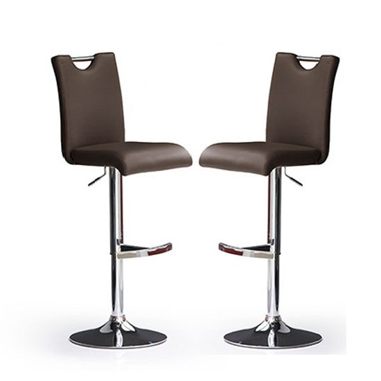 Modern Bar Stools In Brown: Common Production Materials