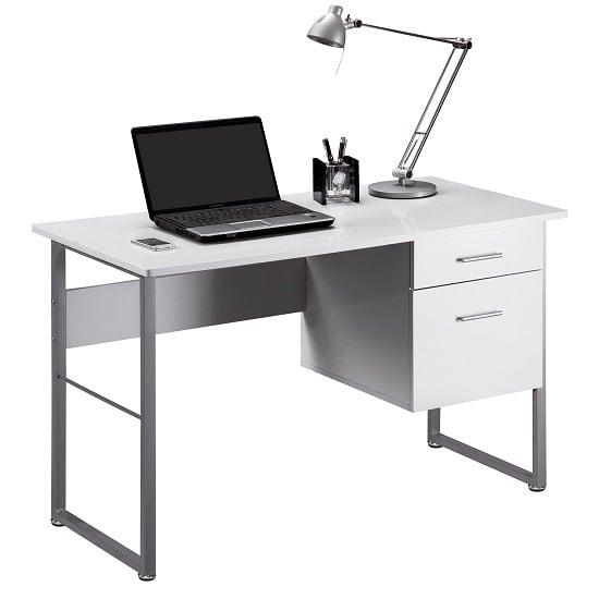 CABRINI DESK1 - 8 Simple Ideas On Organising A Computer Desk For Bay Window