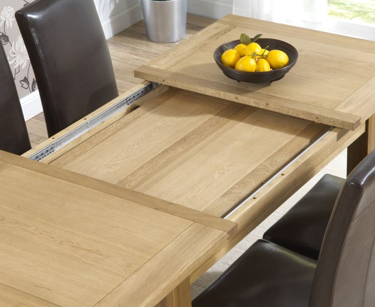 Dining Room Furniture Tables Cipriano Extending Oak