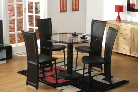 CAMEO ROUND DINING SET - Find Out All Advantages of Dining Table Sets with Leaf Designs