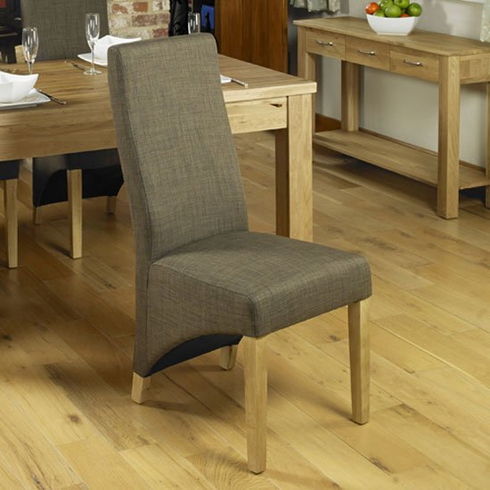 Carabia Dining Chair In Hazelnut Pair of Two